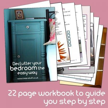 Declutter your bedroom the easy way