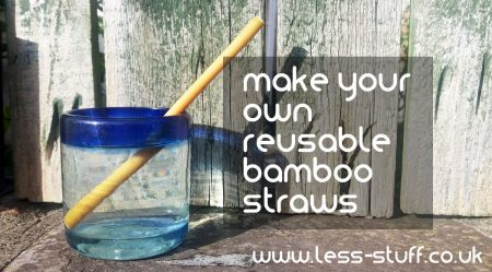 make your own bamboo straws