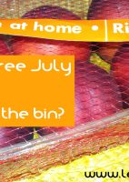 Plastic Free July Week 4 What is in the bin?
