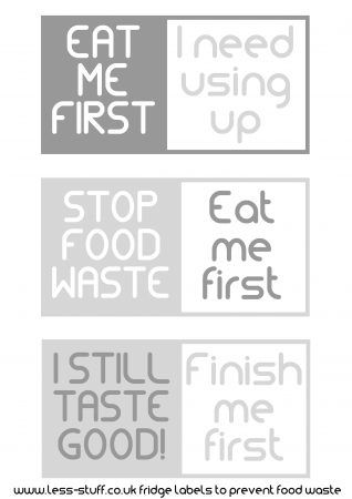 Food Waste Sticker