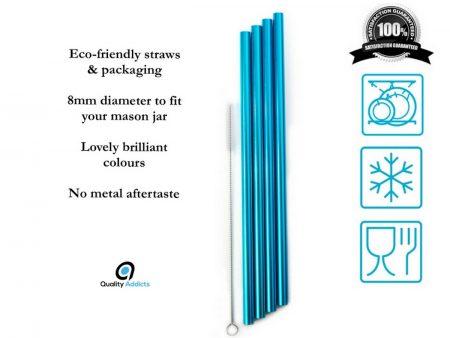 blue straws logo