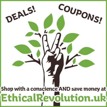 Shop with a conscience AND save money at Ethical Revolution