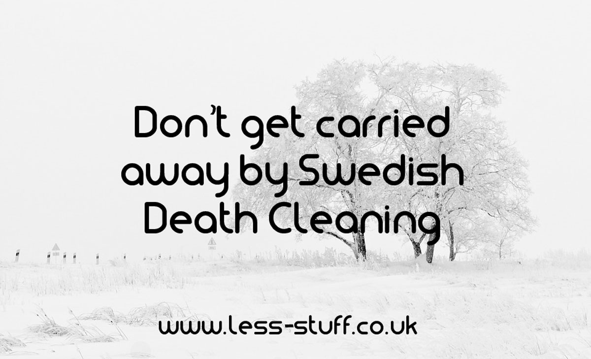 Swedish Death Cleaning