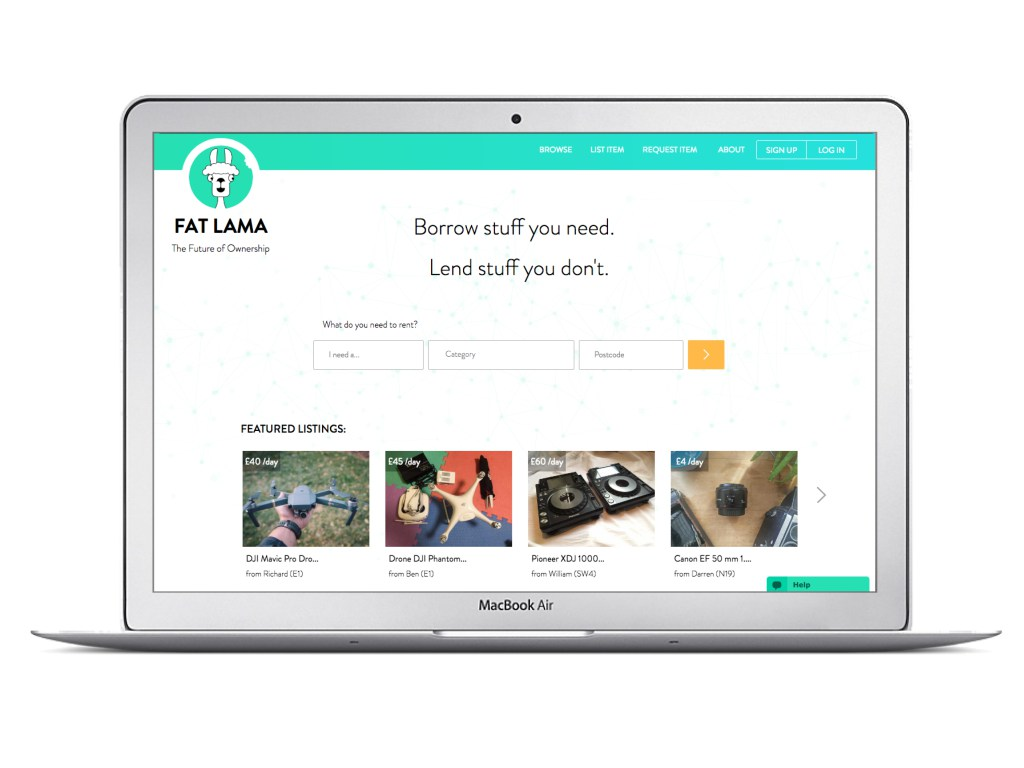 fat lama website
