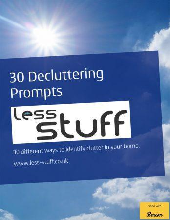 30 ddecluttering prompts