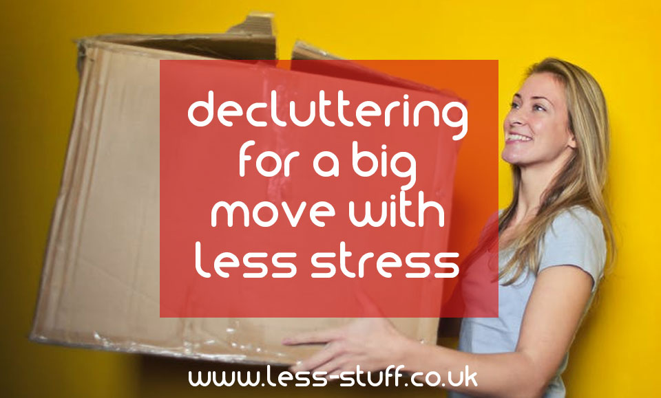 declutter for a big move