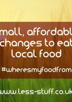 small changes to eat local food