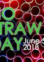 no straw day 2018