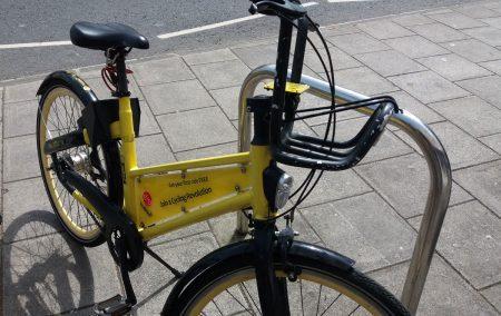 picture of a yo bike