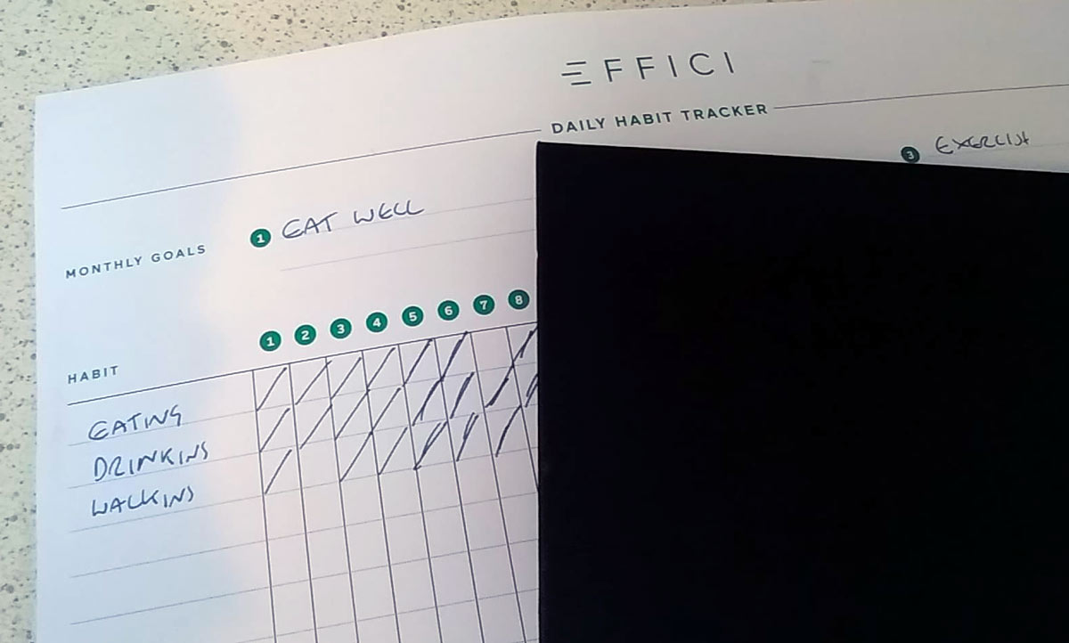 habit tracker effic