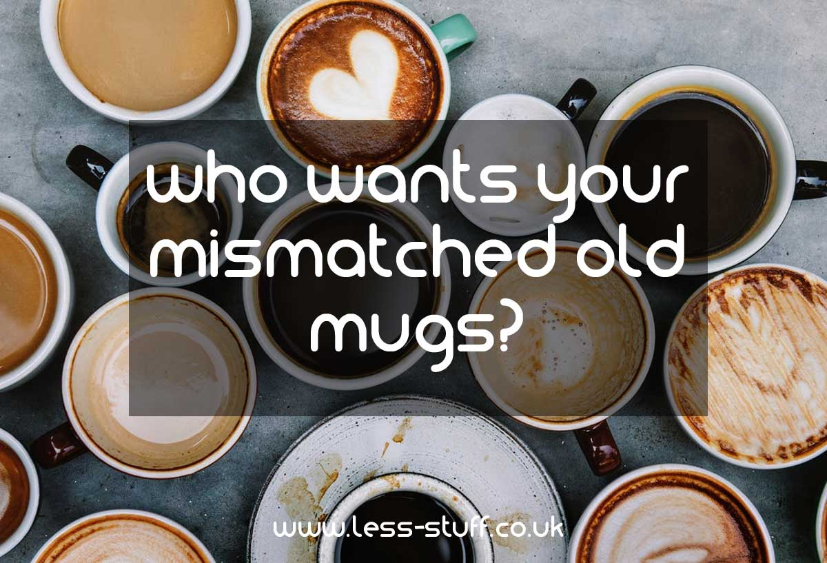 who wants your mismatched mugs
