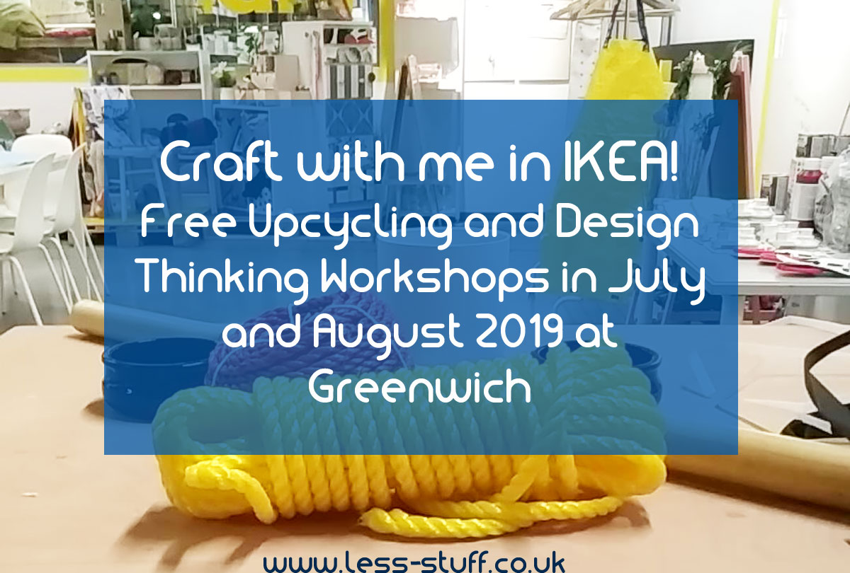 Craft With Lisa From Less Stuff At Ikea S Learning Lab In